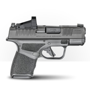 SPRINGFIELD Hellcat 9mm 3in Black Micro-Compact Optical Sight Pistol with Shield SMSC Sight (HC9319BOSPSMSC)