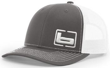 BANDED Side Logo Charcoal/White Trucker Cap (B03582)