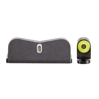 XS SIGHT SYSTEMS DXT2 Big Dot Yellow Tritium Night Sights for S&W M&P 380 Shield EZ (SW-0031S-5Y)
