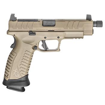 SPRINGFIELD ARMORY XD-M Elite 9mm 4.5in 22rd Desert FDE OSP Threaded Pistol (XDMET9459FHCOSP)