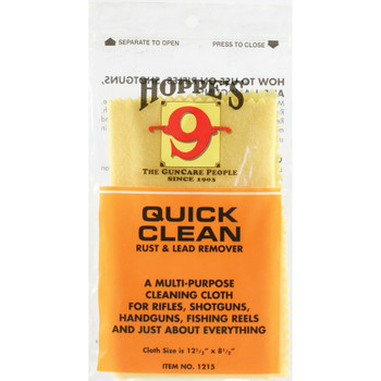HOPPE'S Quick Clean Rust & Lead Remover Cleaning Cloth (1215)