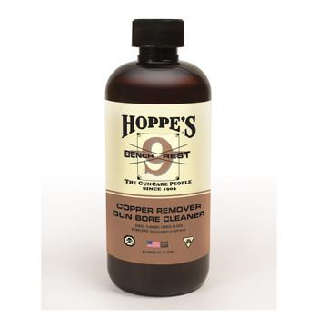 HOPPE'S Bench Rest 9 16oz Bottle Copper Solvent (BR916)