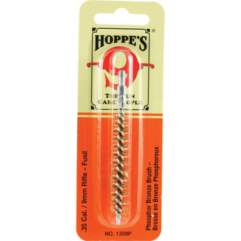 HOPPE'S .35 Caliber and 9mm Phosphor Bronze Cleaning Brush End (1309P)