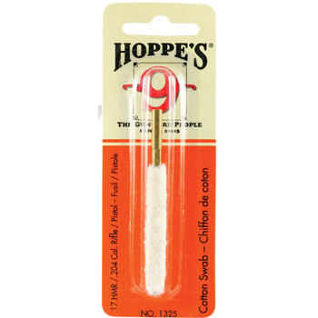 HOPPE'S .17 and .204 Caliber Cotton Cleaning Swab (1325)