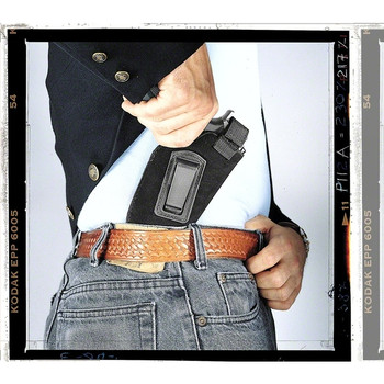 UNCLE MIKES Small Auto Black Nylon RH Inside the Pant Holster (7610-1)