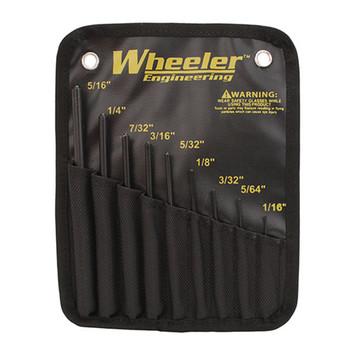WHEELER Roll Pin Punch Set (204513)