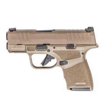 SPRINGFIELD ARMORY Hellcat Micro-Compact 9mm 3in 11rd/13rd Desert FDE Semi-Automatic Pistol (HC9319F)