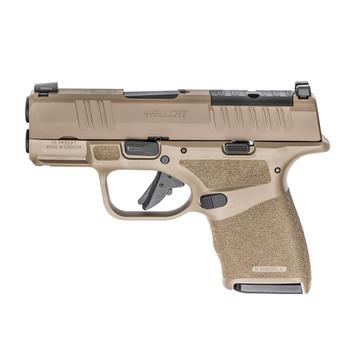 SPRINGFIELD ARMORY Hellcat Micro-Compact OSP 9mm 3in 11rd/13rd Desert FDE Semi-Automatic Pistol (HC9319FOSP)