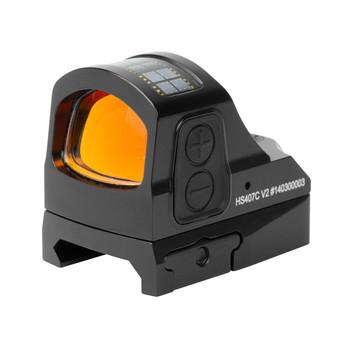 HOLOSUN Reflex X2 Red 2 MOA Dot Sight (HS407C-X2)