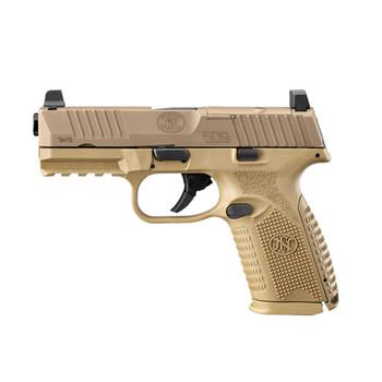 FN 509 Midsize MRD 9mm 4in 15rd Flat Dark Earth Semi-Automatic Pistol (66-100741)
