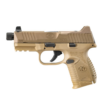 FN 509 Compact Tactical 9mm 4.32in 10rd Semi-Automatic Pistol (66-100781)