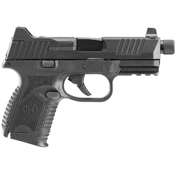 FN AMERICA FN 509 Compact Tactical 9mm 4.32in 3x10rd Black Pistol (66-100783)