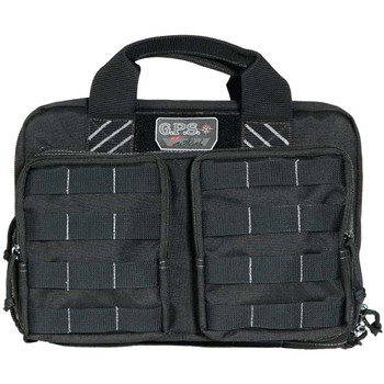 G Outdoors Tactical Quad + 2 Pistol Black Range Bag (GPS-T1311PCB)