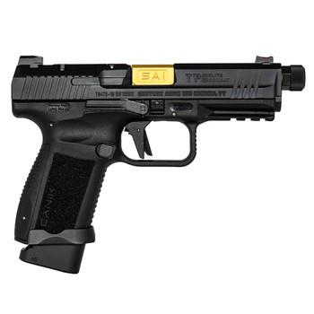 CANIK TP9 Elite Combat Executive 9mm Black w/Gold PVD Barrel Semi-Auto Pistol (HG4950-N)