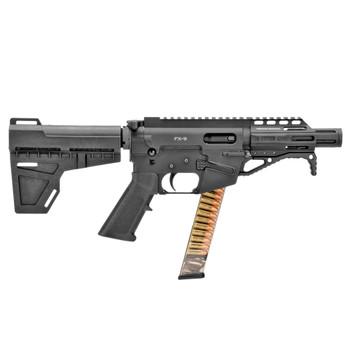 FREEDOM ORDNANCE FX-9 9mm 4.50in 31rd KAK Shockwave Pistol Brace Semi-Auto Pistol (FX9P4)