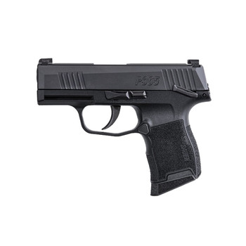 SIG SAUER P365 9mm TacPac 3.1in 3x12rd With Holster Pistol (365-9-BXR3-MS-TACPAC)