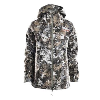 SITKA Womens Downpour Optifade Elevated II Jacket (50138-EV)