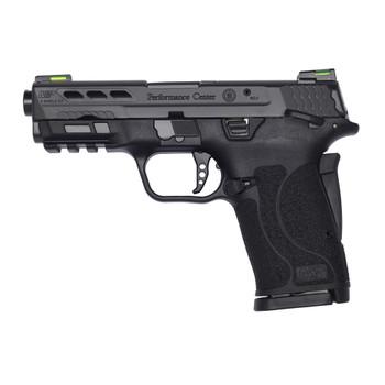 SMITH & WESSON PC MP9 Shield EZ TS 9mm 3.8in 8rd Black Pistol (13223)