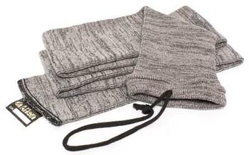 ALLEN 52in Gray Knit Gun Sock, 6-Pack (13160)