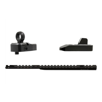 XS SIGHT SYSTEMS Lever Rail Ghost Ring Sight Set and Rail for Marlin 1895 (ML-1001-5)