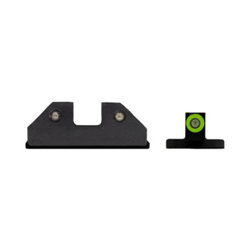 XS SIGHT SYSTEMS RAM Green Tritium Night Sights for S&W M&P & M2.0 Shield (SW-R033S-6G)