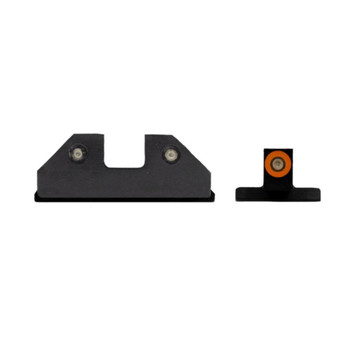 XS SIGHT SYSTEMS RAM Orange Tritium Night Sights for S&W M&P & M2.0 Shield (SW-R033S-6N)