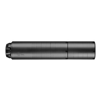 DEAD AIR ARMAMENT Wolfman Modular 9mm Luger 5.13in-7.50in Black Suppressor (WOLFMAN)