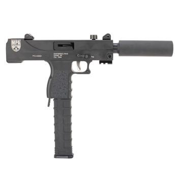 MasterPiece Arms 30T Defender Top Cocking TB 9mm Luger 5.50in 30rd Black Cerakote Pistol (30T)