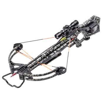 WICKED RIDGE Invader 400 ACUdraw 50/Pro-View Scope Peak Camo Crossbow Package (WR20005-9521)