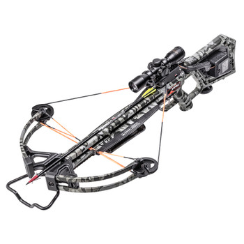 WICKED RIDGE Invader 400 ACUdraw/Pro-View Scope Peak Camo Crossbow Package (WR20005-9522)