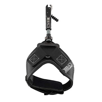 B3 ARCHERY Nemesis Black Release Aid with Swivel Stem Connector (NMSS-BK)