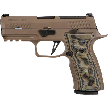 SIG SAUER P320 AXG Scorpion 9mm 3.9in 17rd Flat Dark Earth Cerakote Pistol (320AXGCA9CWSCPNR2)