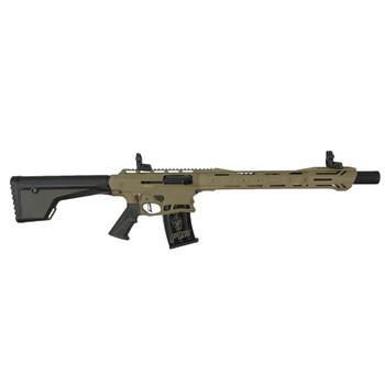 TYPHOON F12 Sport 12Ga 18.5in 3x 5rd Mag FDE Cerakote Shotgun (F122101S)