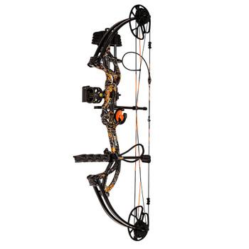 BEAR ARCHERY Compound Cruzer G2 RTH 5-70lb RH Moonshine Wildfire Compound Bow (AV83B21057R)
