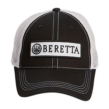 BERETTA Patch Trucker Black/White Hat (BC062016600953)