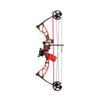 CAJUN Shore Runner Ext Red Kryptec Compound Bow Kit (A20CB202045R)