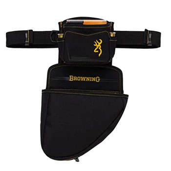 BROWNING Black/Gold Pouch/Shell Holder Pouch (121095898)