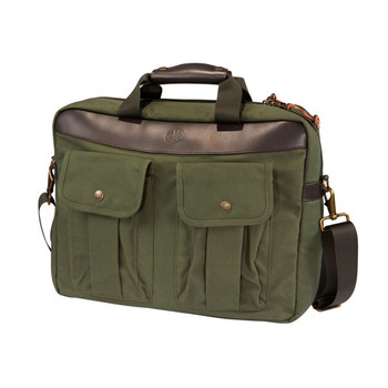 BERETTA Green Waxwear Briefcase (BS981020610076)