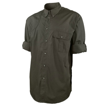 BERETTA TM Olive Green Roll-Up Shirt (LU222T15340706)