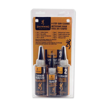 BROWNING 4-Step Gun Cleaner System (123400)