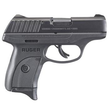RUGER EC9s 9mm 3.1in Barrel 7Rd Black Oxide Pistol (03283)