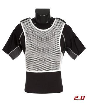 221B TACTICAL Maxx-Dri Body Armor Ventilation White Vest 2.0 (MDV2-WHT)