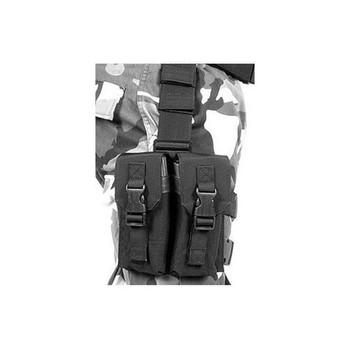 BLACKHAWK Omega Elite M16 Mag Pouch, 4 Mags, Black (561602BK)