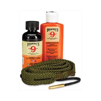 HOPPE'S 1-2-3 Done! 9Mm- 38 Caliber Pistol Cleaning Kit (110009)