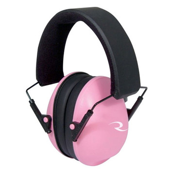 RADIANS Pink Adjustable Lowset Earmuffs, 21 dB (LSO800CS)