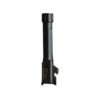 TRUE PRECISION Glock 43 Fluted Threaded Black DLC Barrel (TP-G43B-XTBC)