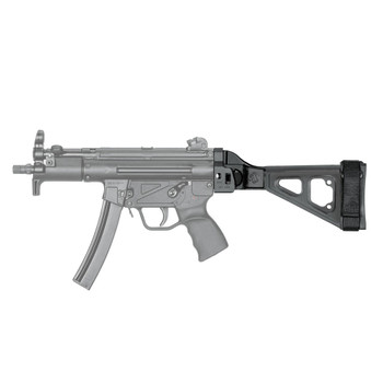 SB TACTICAL HK MP5K/SP89/SP5K Black Folding Pistol Brace (SBT5KA-01-SB)