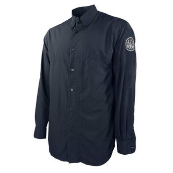 BERETTA Buzzi Blue Navy Long Sleeve Shooting Shirt (LT011T1555053G)