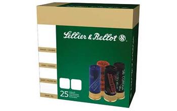 SELLIER & BELLOT 12Ga 2.75in 9 Pellets 00 Buckshot (SB12BSG)