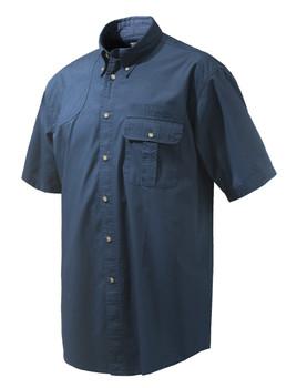 BERETTA TM Blue Total Eclipse Short Sleeve Shooting Shirt (LU831T15340504)